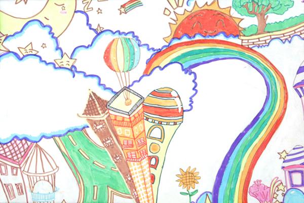 """""""八年级学哥学姐的科技幻想画"""